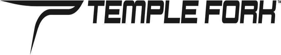 temple fork fishing logo