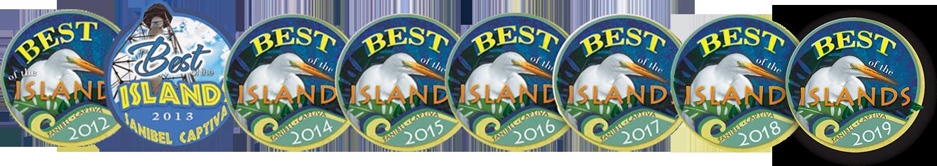 best of the islands award logos