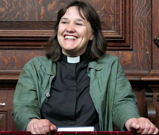 Rev. Emma Percy says only using 'He' may make women feel less Christian