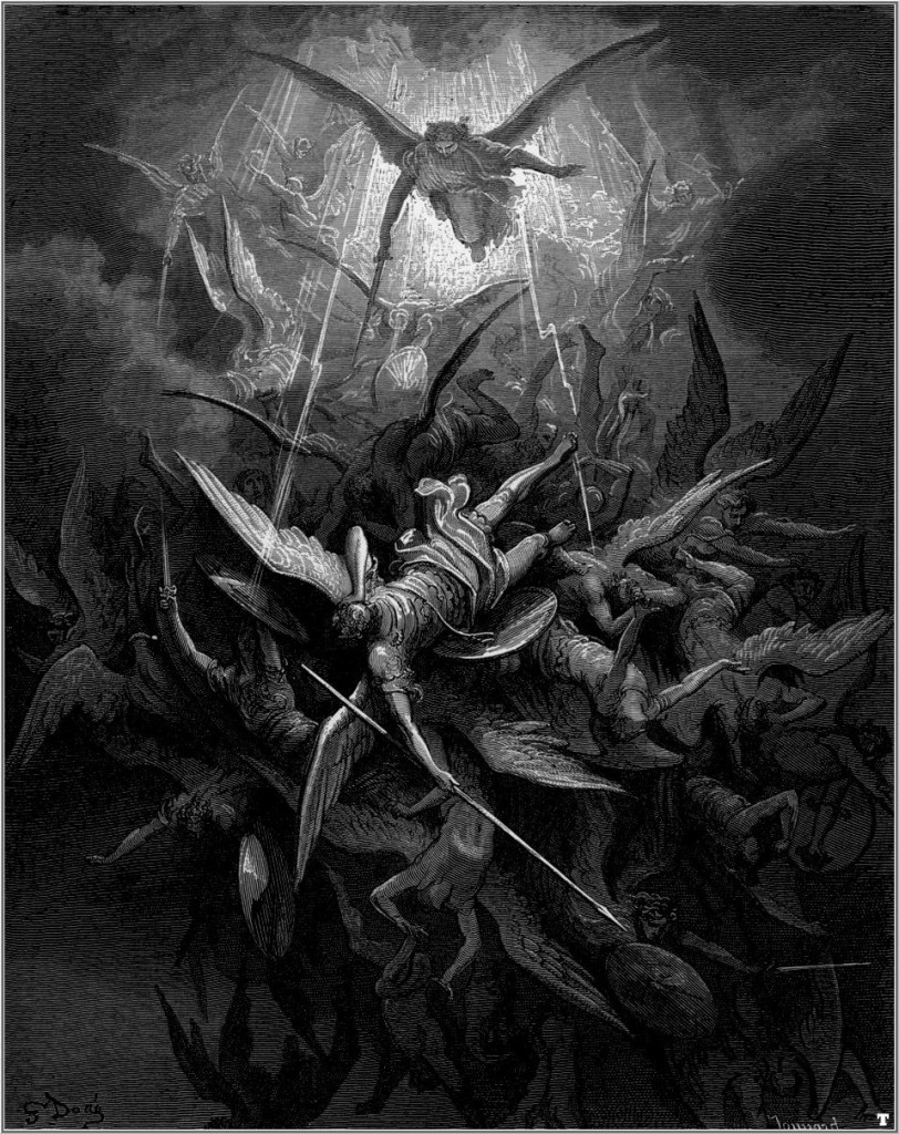 Michael casts out rebel angels