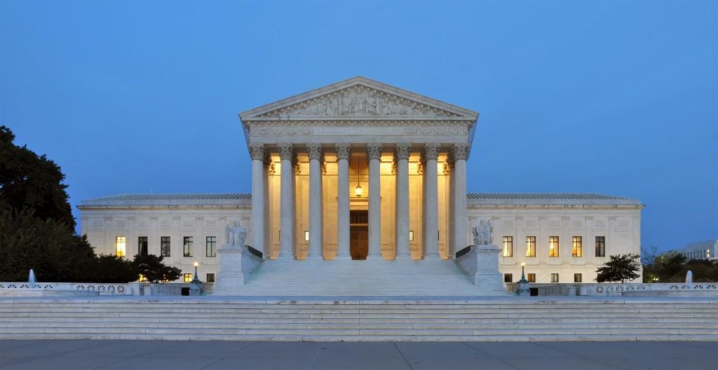 Supreme Court building panorama