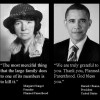 Margaret Sanger and Barack Obama