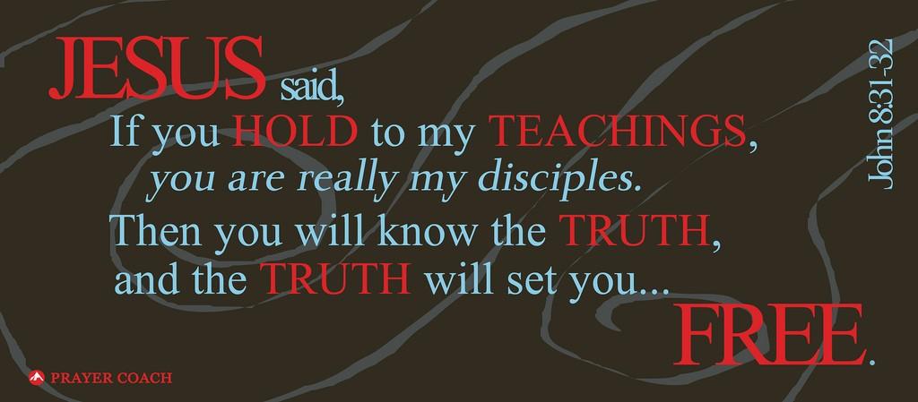 John 8:31, 32