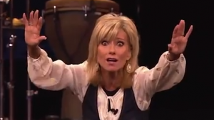 You Tube screen shot of Beth Moore courtesy of Do Not Be Surprised