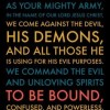 """Binding Satan"" is unbiblical.  ""Involvement in this kind of material does not glorify Christ, which should be our ultimate goal, but it glorifies the kingdom of darkness."""