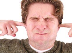 Plugged ears