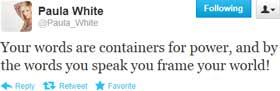 Paula White tweet 1