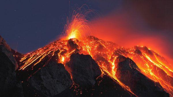 Volcano lava 2
