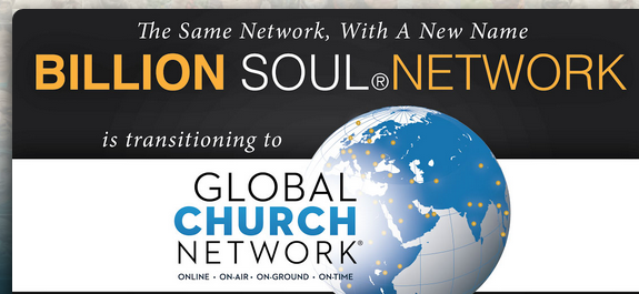 Billion Soul Network, Global Church Network