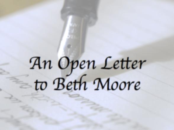 Open Letter Beth Moore