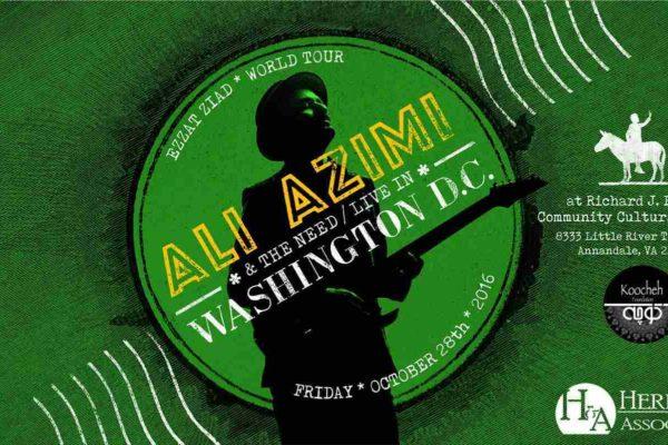 Ali Azimi in the DC area