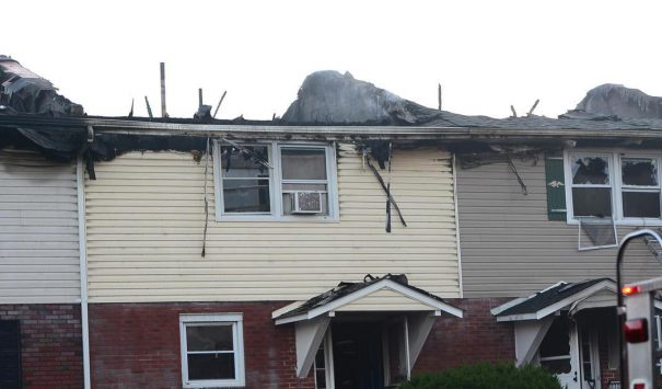 Whitehall Townhome Fire