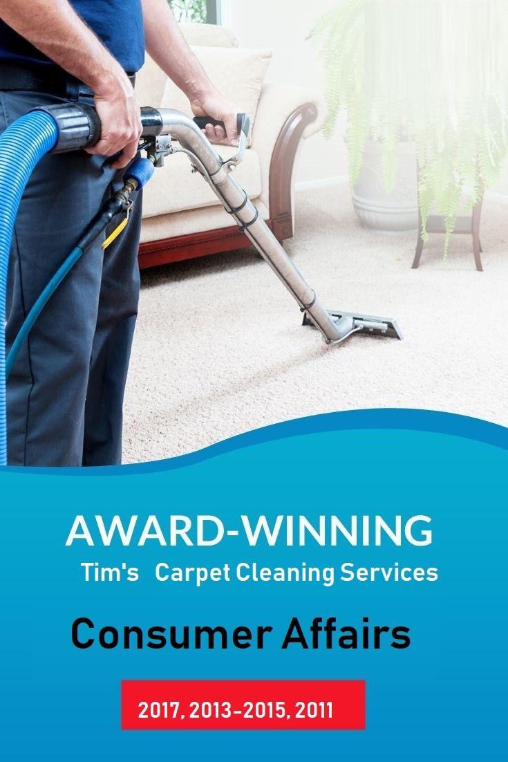 award winning carpet cleaning Tim's Carpet Cleaning