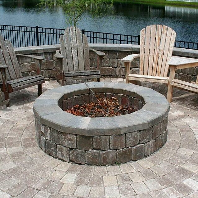 Quail West Fire Pit Installation