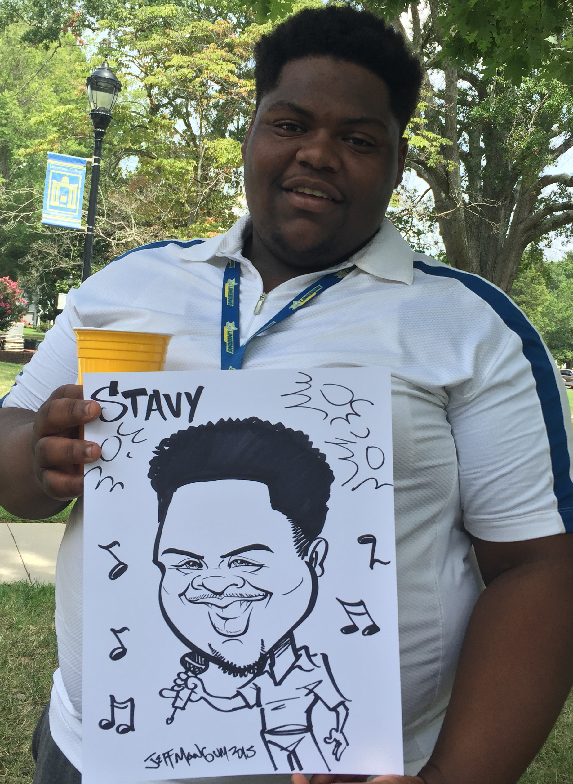 College Events Caricatures SC