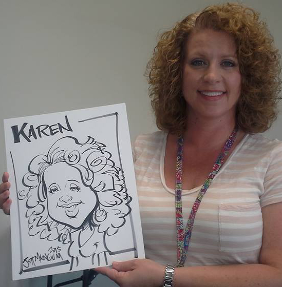 School Events Caricatures