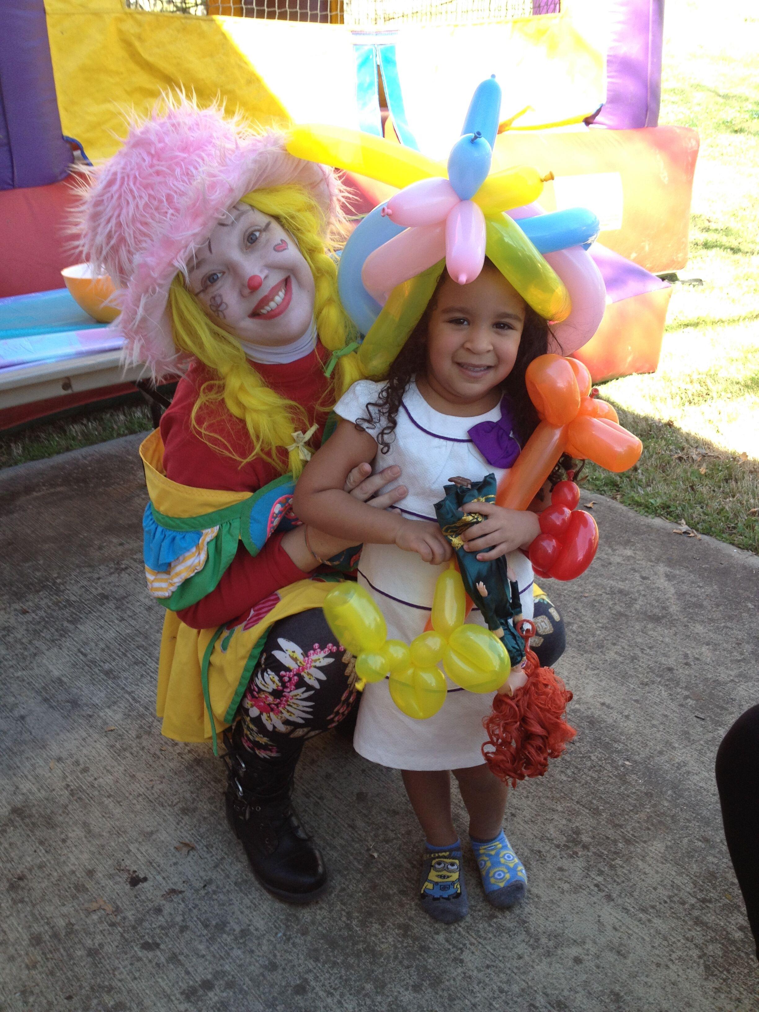 Corky Balloon Animals