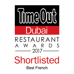 La Serre - Best Restaurant Award 2017 - TimeOut Dubai