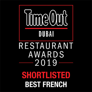 La Serre - Best Restaurant Award 2019 - TimeOut Dubai
