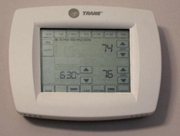 Houston Thermostat Settings