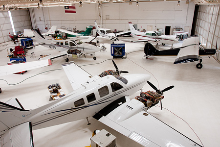 Glendale Aero Services Aircraft Hangar