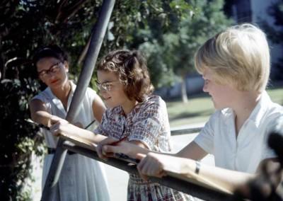1963 Art Class - Sybil Brooks, Jane Meloy, Ann Turnbull