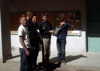 1963 Tim Adair, John Haspels, Dave Jordan, David McClanahan and ?