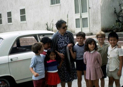 1972 Carolyn Pollock's Class with Story Teller Madame Karbenyenko