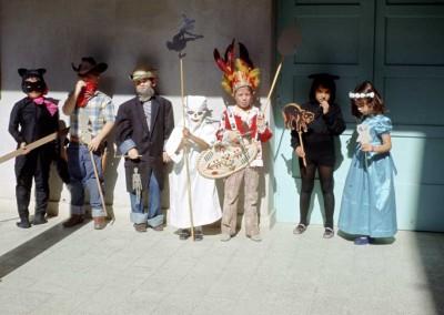 1972 Carolyn Pollock's Class - Halloween