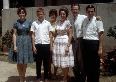 Bill and Martha Adair Family