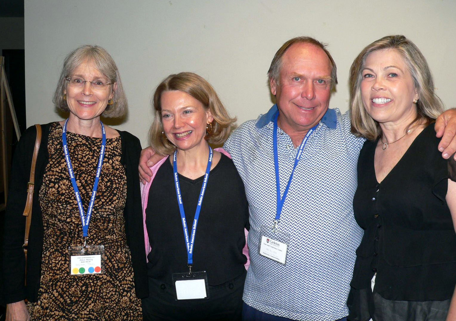 Alice, Charlotte, Ron and Gloria