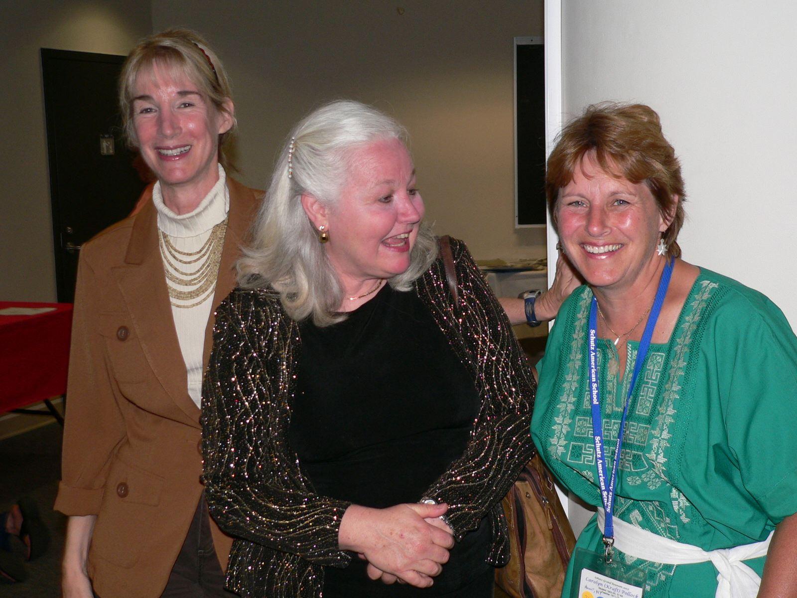 Barbara Murray, Deb Martin and Carolyn Pollock