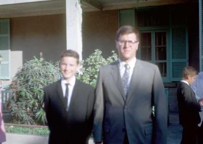 Ed Nicholas and Chuck Watkins