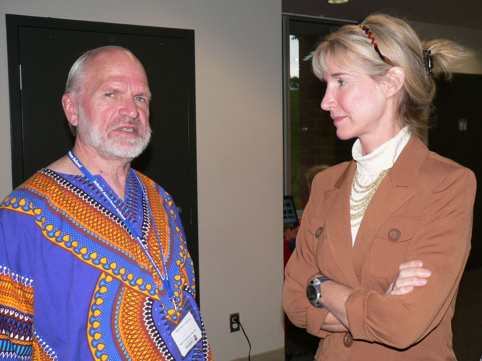 Ed Pollock and Barbara Murray