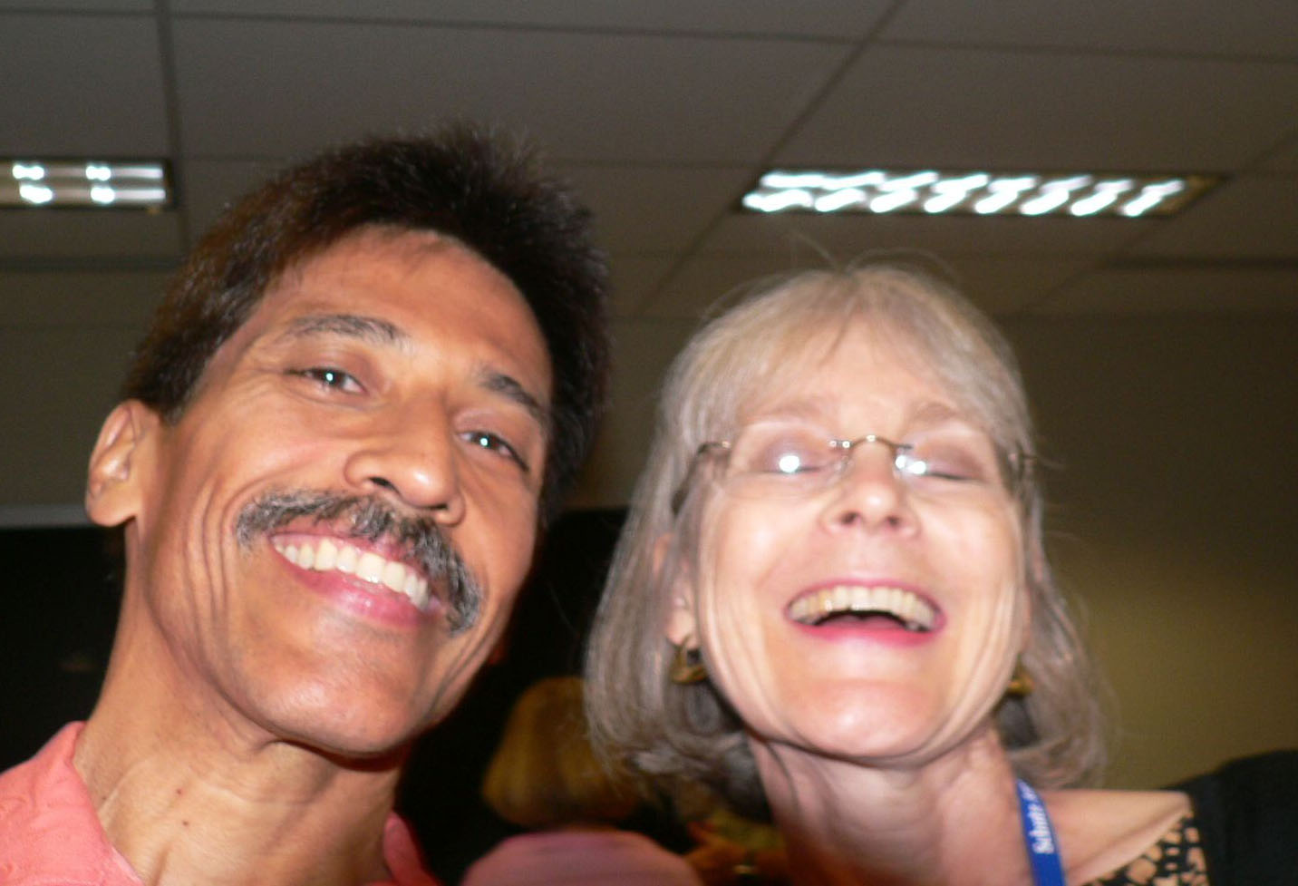 Ernie Baca and Alice Meloy