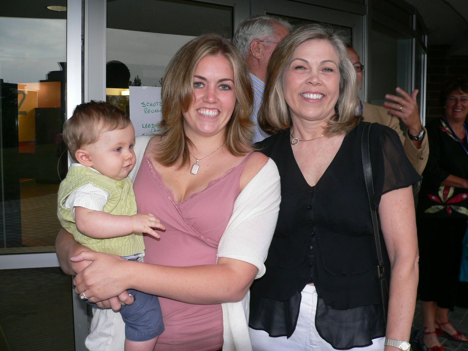 Lucas, Lindsey, and Gloria