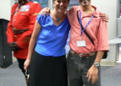 Marina Moraitis and Ernie Baca