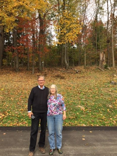 October 18, 2016 Franklin, PA Paul Clark and Janet Roode Earnhardt Classmates in 4th grade at Schutz