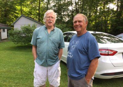 George Pollock and Ron Pollock