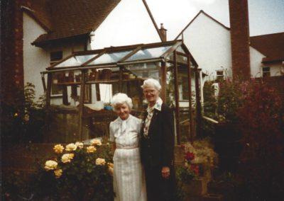 14 - Reunion of class of 1930 Ellen Smith Theobald - England, Martha Roy Cairo Egypt, June 1990