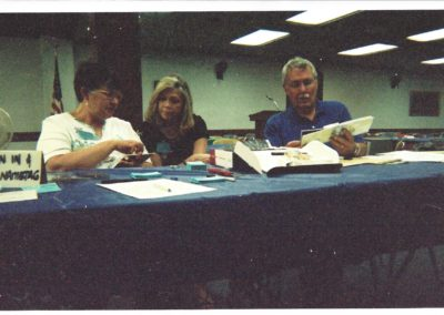 Janie Walters, Gloria Holcomb, Ron Walters