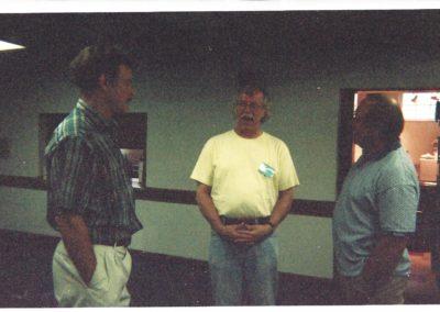 Gib McGill, George Reed, Ron Pollock
