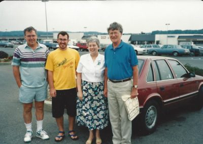Ron, Greg, Jean, George