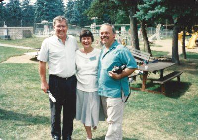 Ron, Janie, Len