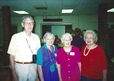 Brad Watkins, Eunice Nasre, Teddy Tedford, Shirley Small
