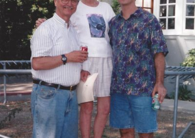 Wally, Bettery and John Stearns