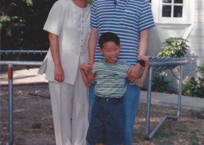 John, Mary and Brian Chu
