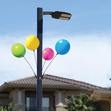 BalloonBobber 4 Pack Light Pole Kit
