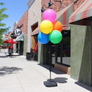 BalloonBobber Weighted Cluster Pole Kit