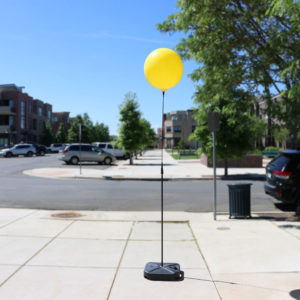 BalloonBobber Weighted Long Pole 1